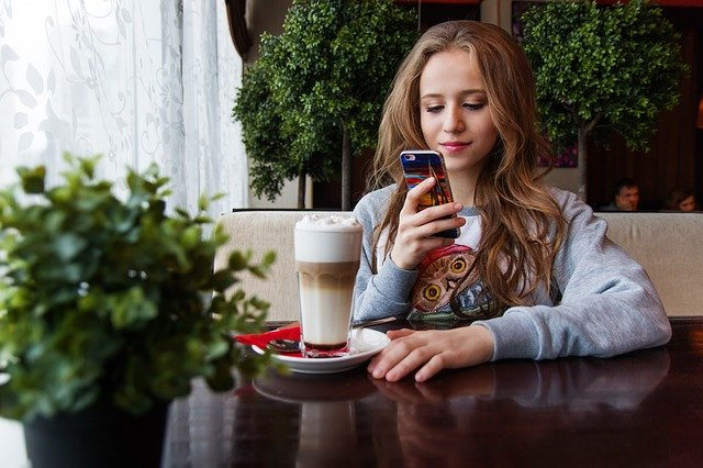 Café Smartphone